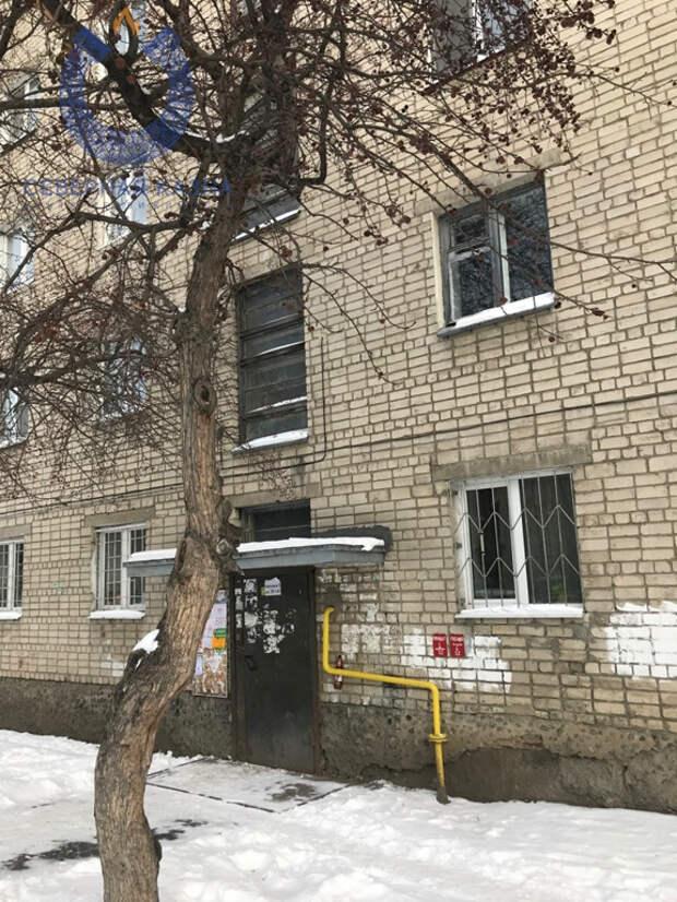Так выглядит дом, в котором находится самая маленькая квартира
