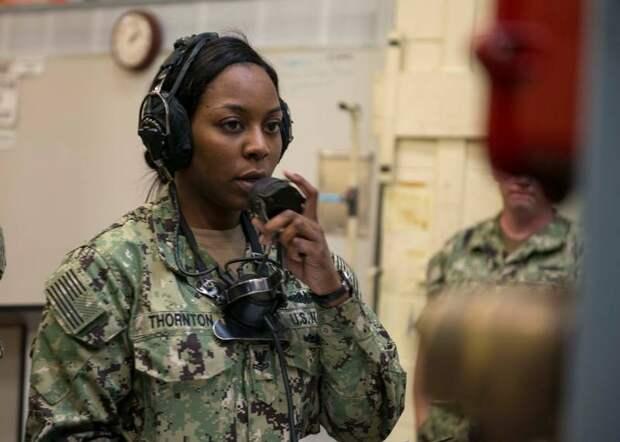 Влияние гендерного фактора на боеготовность ВМС США