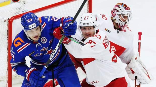 СКА победил «Спартак» и в 10-й раз выиграл дивизион Боброва