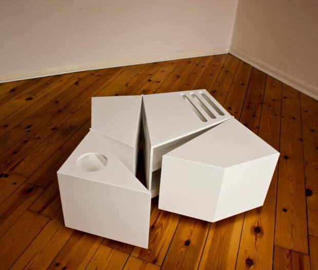 Необычная мебель для инновационного и стильного интерьера. /Фото: limaonagua.com.br