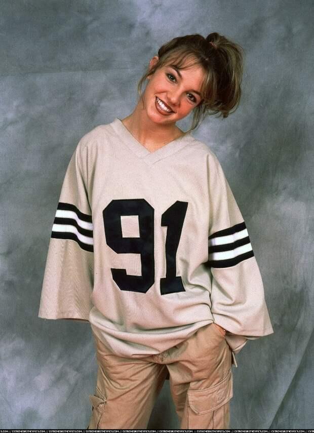 Бритни Спирс в 17 лет, 1998 год.