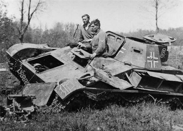 Т-60 в плену