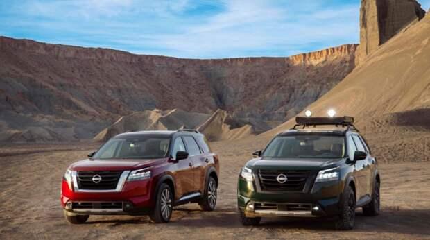 Nissan представил внедорожник Pathfinder нового поколения