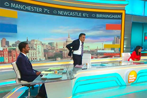 Телеведущий зажал монету между ягодицами в прямом эфире и разозлил зрителей