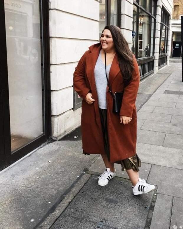 Что носить осенью 2020 полным женщинам
