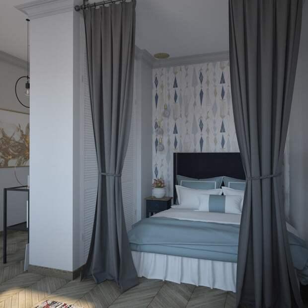 Проект квартиры 36 кв.м.