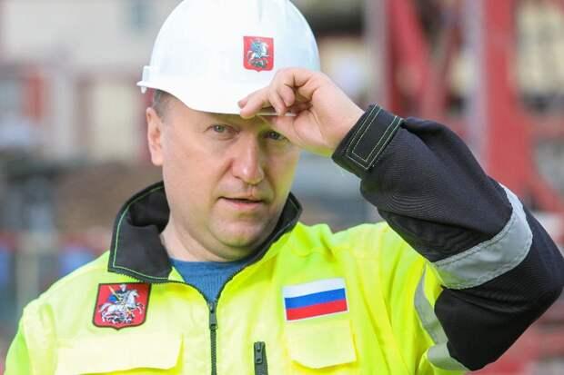 Андрей Бочкарев: Началась подготовка к монтажу фасада спорткомплекса в ТПУ «Некрасовка»