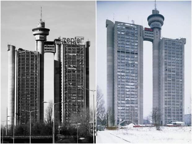 Высотка Genex или «Западные ворота Белграда» была построена в 1977 г.