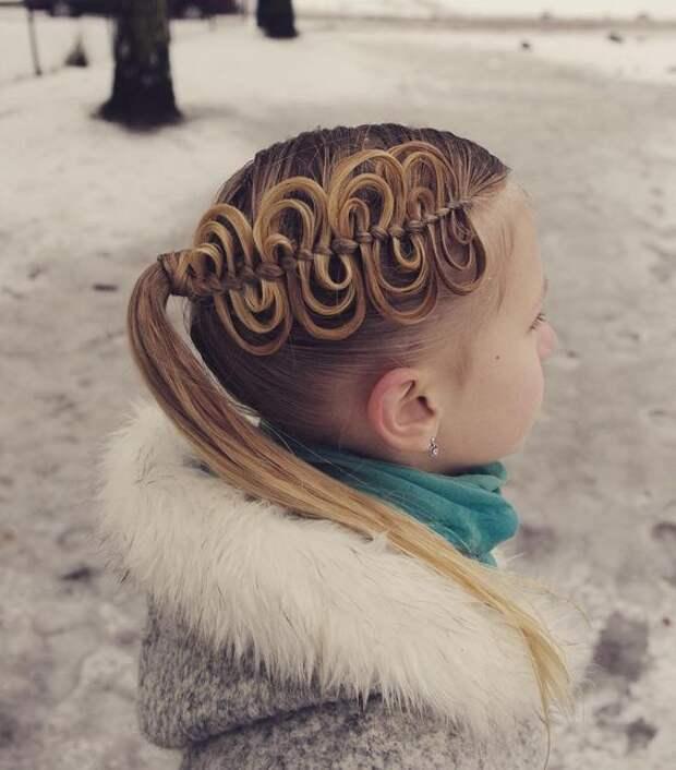 Скандинавские детские косички (подборка)
