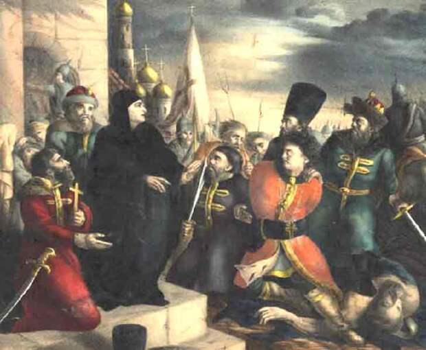 Убийство Лжедмитрия I. 17 мая 1606. По сообщению польских послов в России