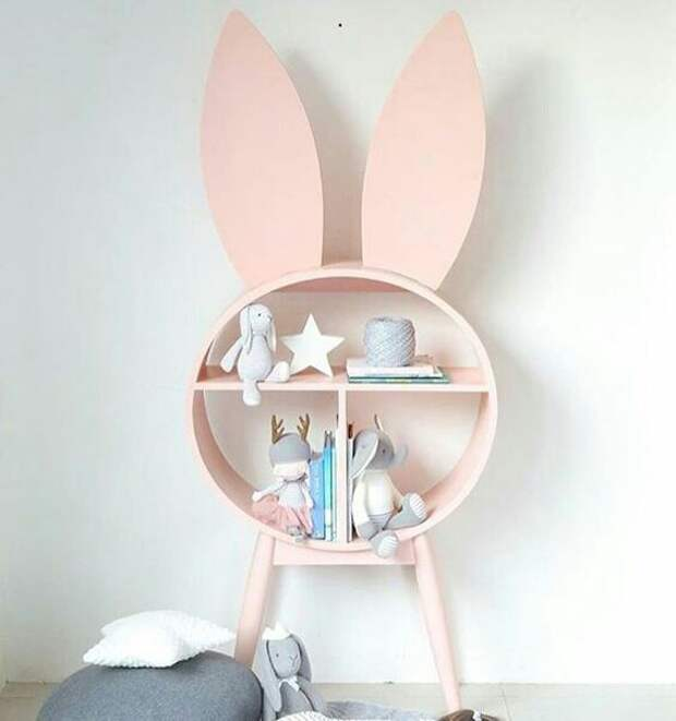 Полочки в детской комнате (подборка)