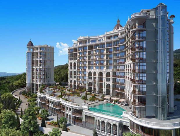 Россияне скупают недвижимость в Крыму и на Черноморском побережье Кавказа