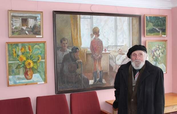 Неважно, есть ли руки, важно, что они золотые! Заслуженный художник России - Леонид Васильевич Птицын. Это заслуживает Вашего внимания