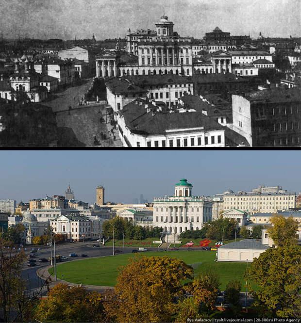 Как в Москве сносили дома к приезду президента США Никсона