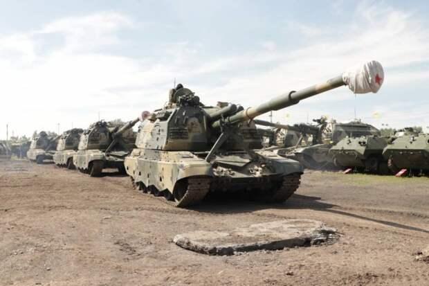Внедрение ЕСУ ТЗ в артиллерии сухопутных войск