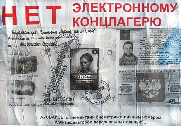 Образ будущего России: продуктовые карточки и «цифровой концлагерь»