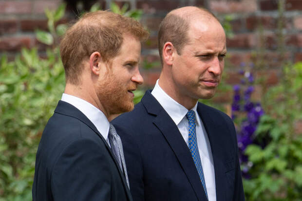Принцы Гарри и Уильям не выступили с речью на открытии мемориала принцессе Диане
