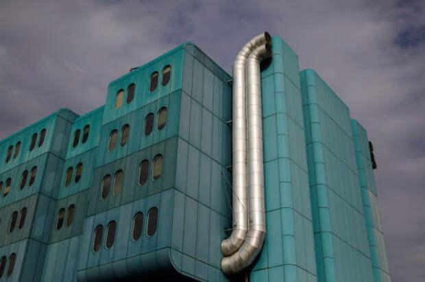 Клиническая больница Дубрава в Загребе (Хорватия).   Фото: Marko Djurica.