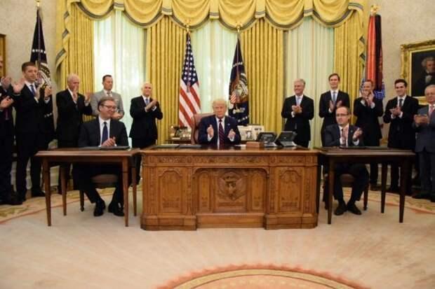Президент Сербии отдал Балканы в полное распоряжение США