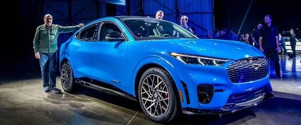 Ford с 2030 года будет производить в Европе только электрические автомобили