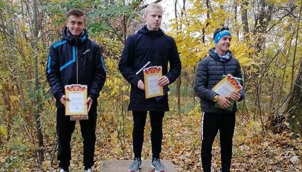 Спортсмены из Подольска стали призерами кросса памяти Андрея Карпова в Москве