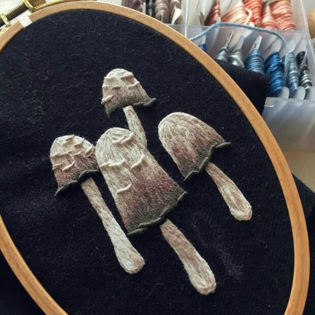 3D вышивка Pippa Haynes