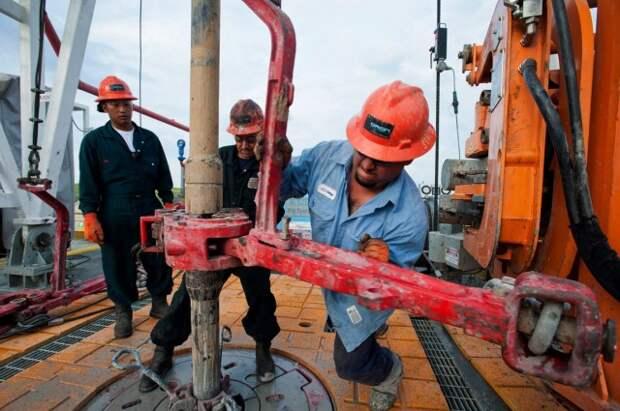 США добыча нефти