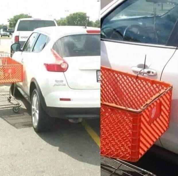 7. На тропе парковочной войны идиоты, мастер парковки, не повезло, неправильная парковка, парковка, прикол, фото