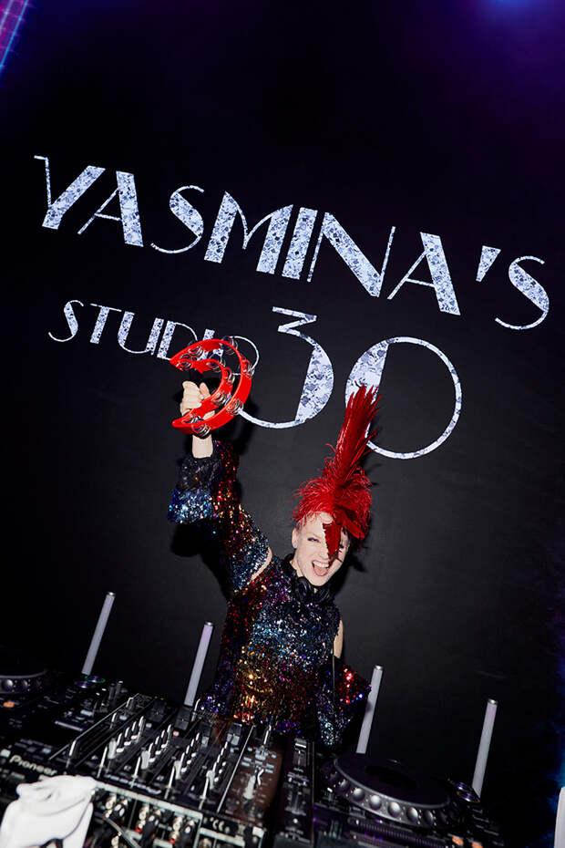 """Ясмина Муратович отметила день рождения в стиле """"Студии 54"""""""