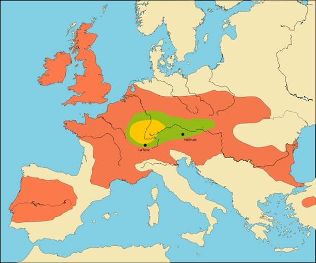 Откуда появились кельты?