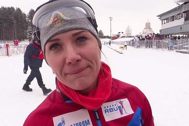 Биатлонистка Васильева пожаловалась на зарплату в 10 тыс. рублей