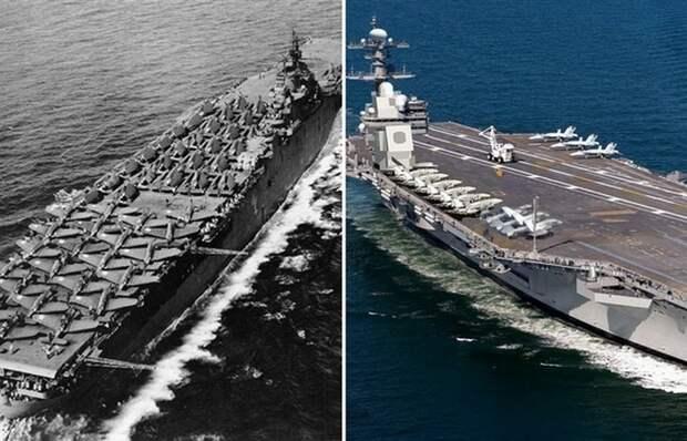 Как самолеты умудрялись садиться на авианосцы времен Второй мировой войны, если места почти не было