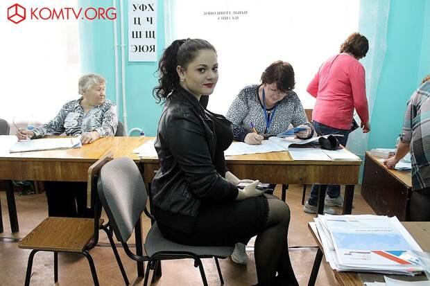 Избирательный участок №442 (Феодосийский политехникум) 1