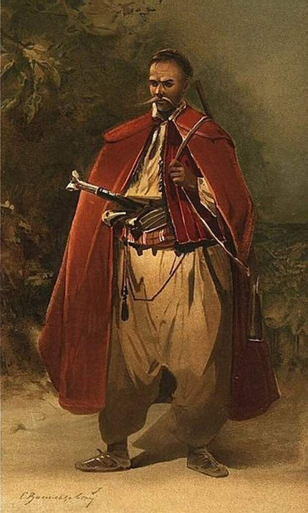 Кому из казаков разрешалось носить длинные чубы, и для чего они были нужны бесстрашным воинам