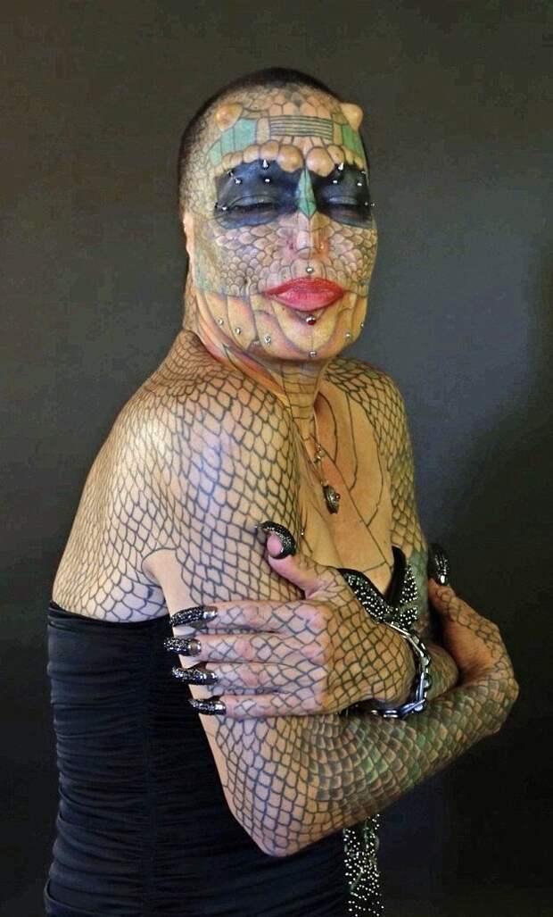 Ева Тиамат Медуза потратила 60 тысяч долларов на трансформации transgender, дракон, модификация, мужчина, перевоплощение, рептилия, сша, фото