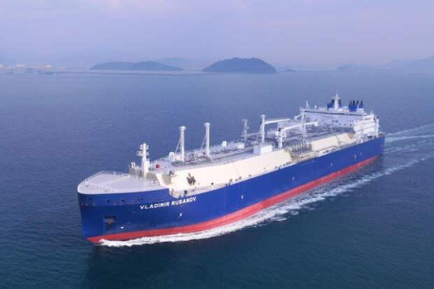СПГ танкер Русанов