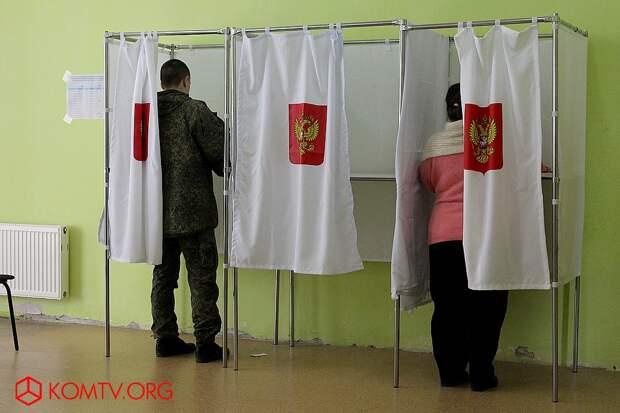 Выборы в Крыму 2018 г.: Феодосия голосует за Президента России