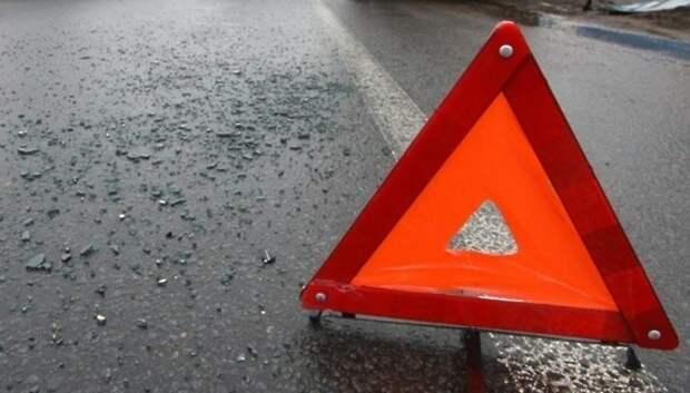 Мотоциклист не справился с управлением и въехал в отбойник в Подольске