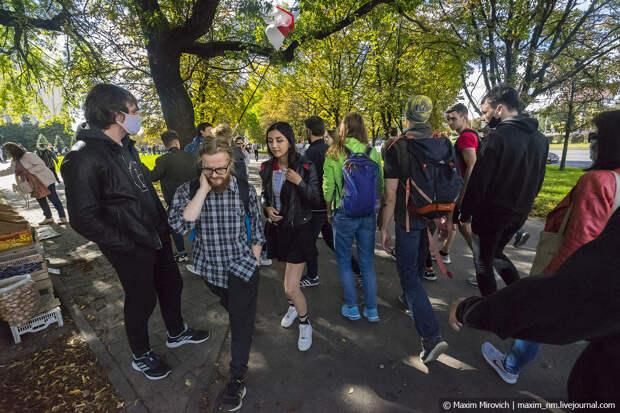 Протесты в Беларуси. Облава. Солидарность.