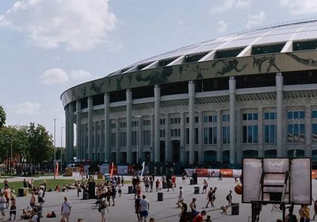 Московскую фан-зону для фанатов Евро-2020 в «Лужниках» начинают демонтировать