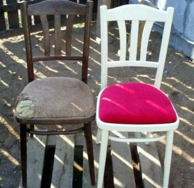 Новая жизнь стула. /Фото: adfave.ru