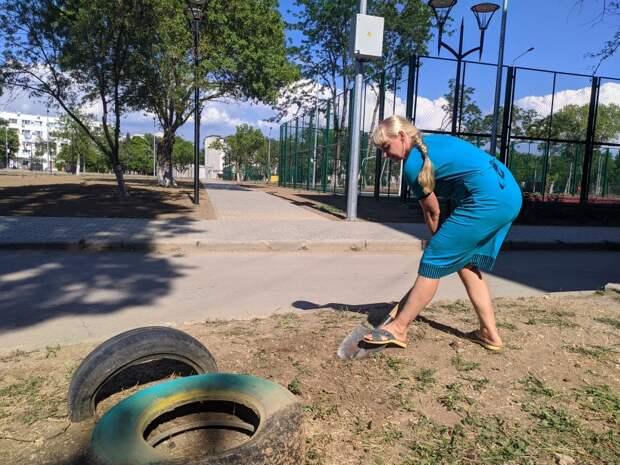 Власти Севастополя открыли парк с помойкой