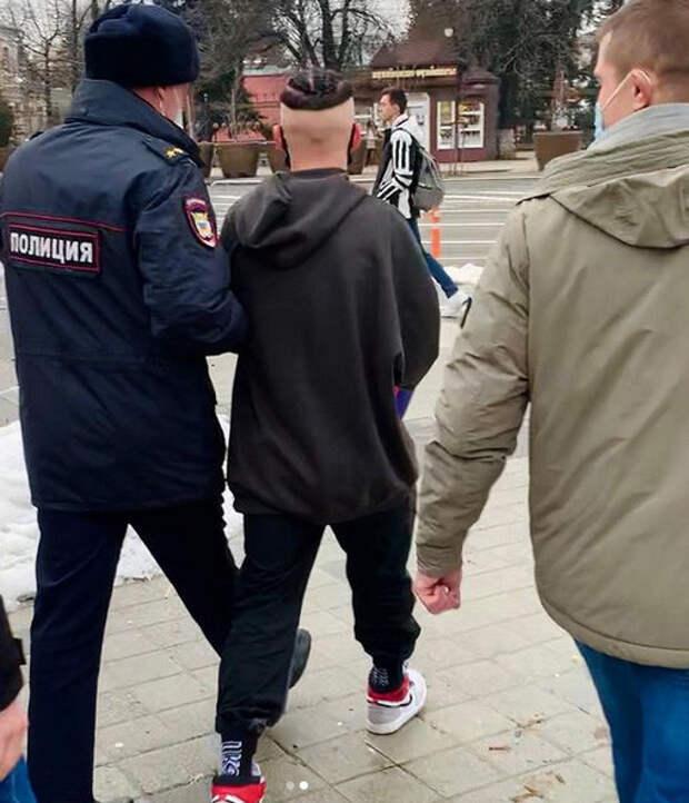 Даню Милохина задержала полиция