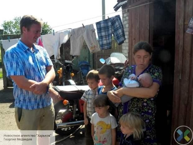Журналист из США купил новое жилье для семьи из прифронтового Зайцево на пожертвования