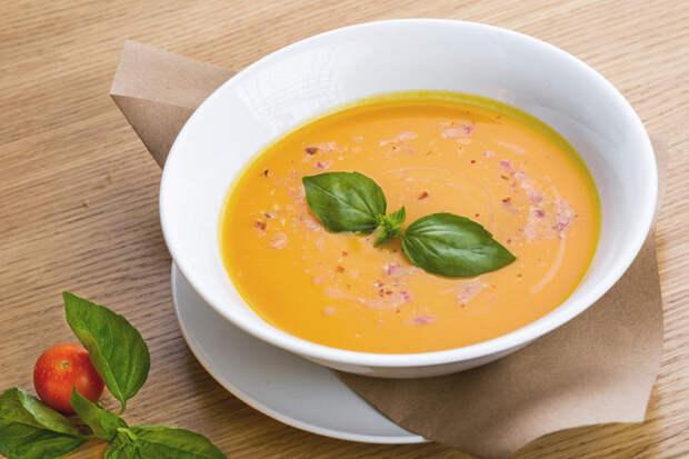 Суп-крем из тыквы на любое время года
