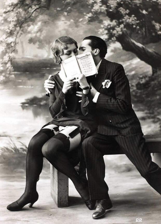 Какой была эротика в начале ХХ века