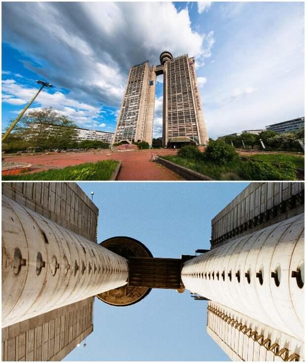 Некоторые считают, что небоскреб Western City Gate является самым уродливым зданием страны (Белград, Сербия).