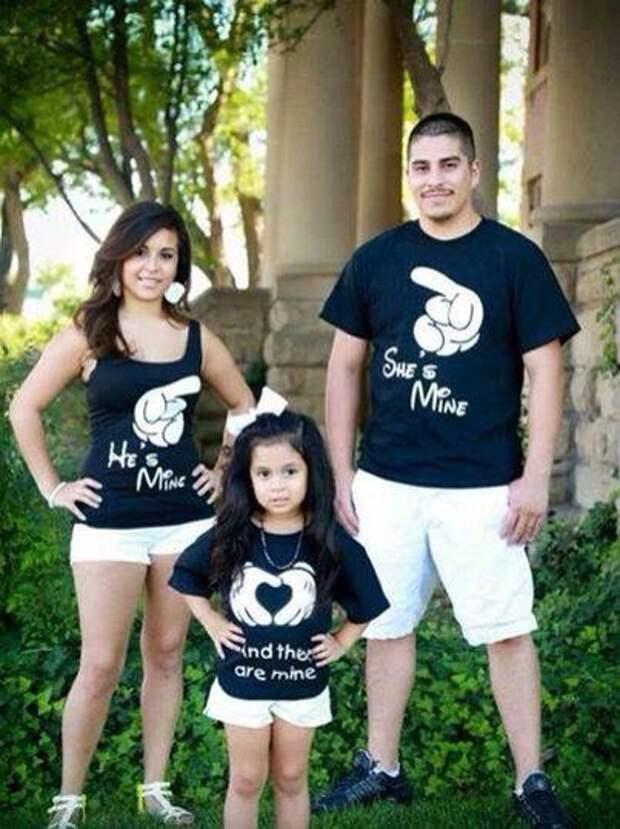 Семейные футболки (подборка)