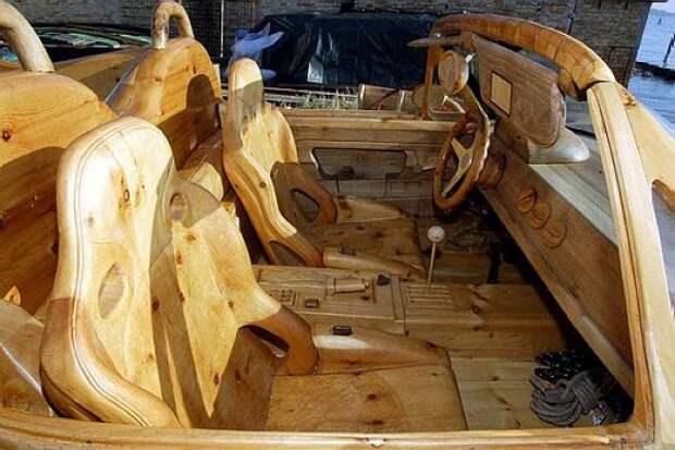 Деревянные шедевры от мастера