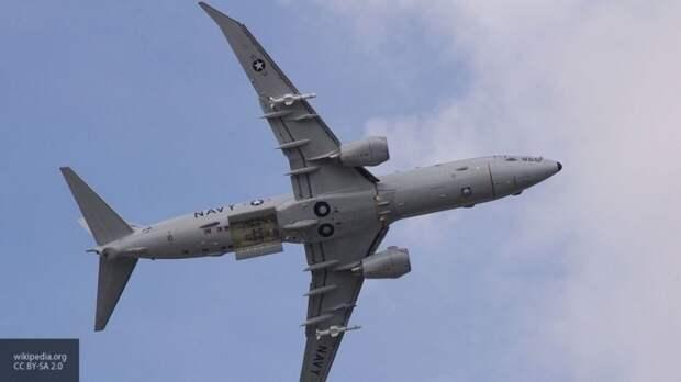 Российские истребители перехватили самолет США над Черным морем